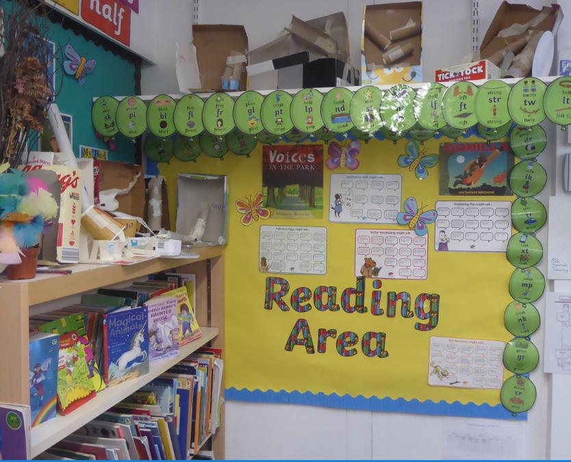 Y2 Reading corner