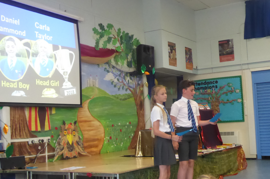 Prize Giving July 2018