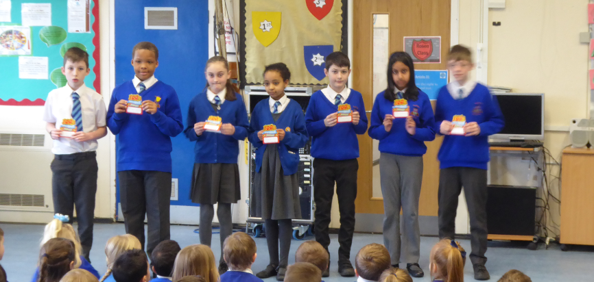 Y5 100% Spring Attendance Champions
