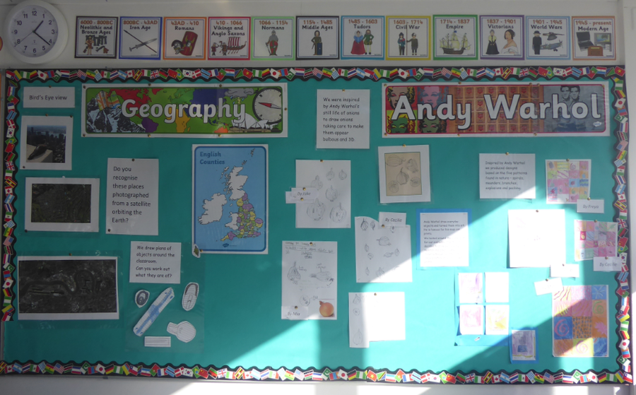 Y3 Geography and Art February 2019