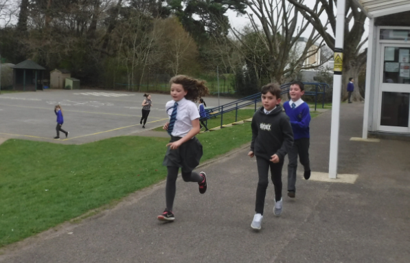 Audley Mile run (March 2019)
