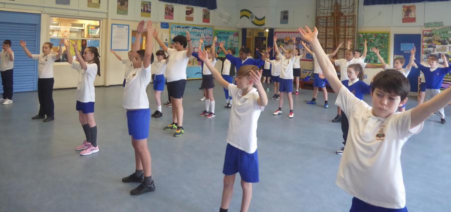 Y6 Dance Day Workshop