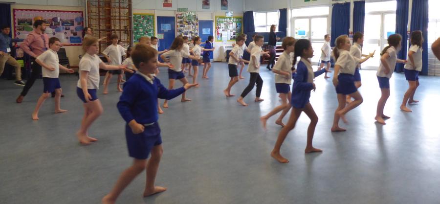 Y4 Dance Day Workshop