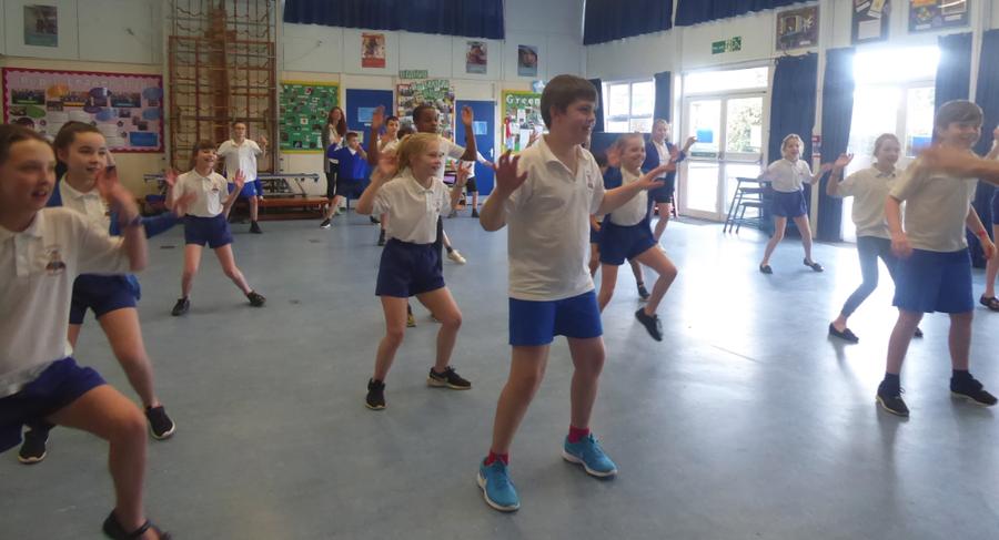 Y5 Dance Day Workshop