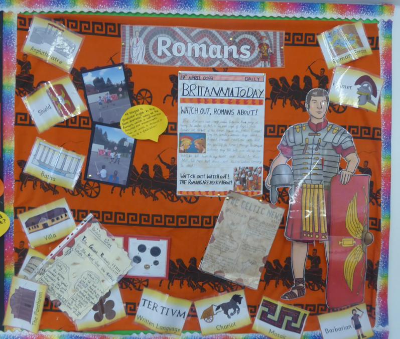 Y4 Romans - History