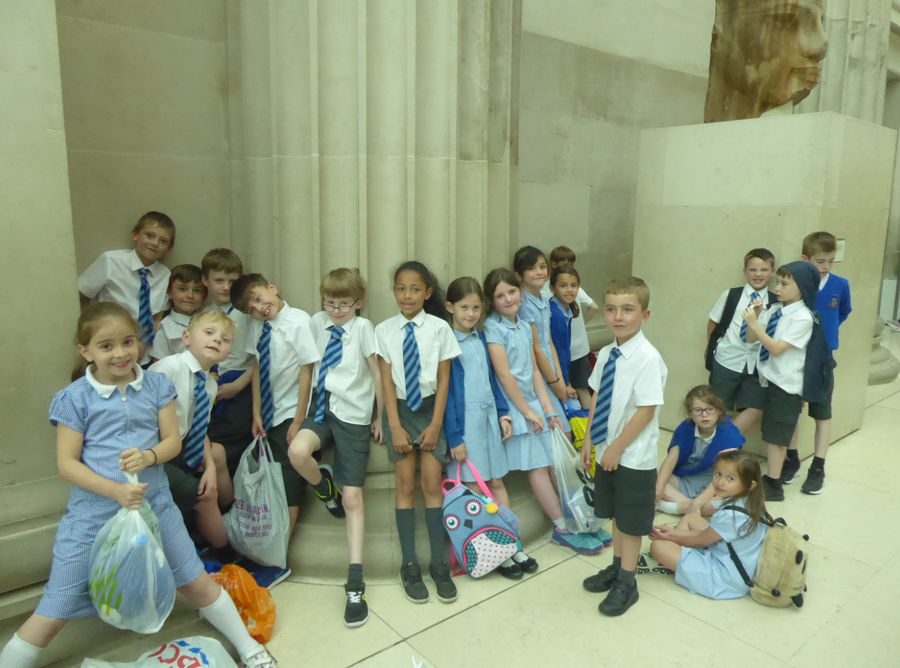 Y3 and Y5 trip to British History Museum