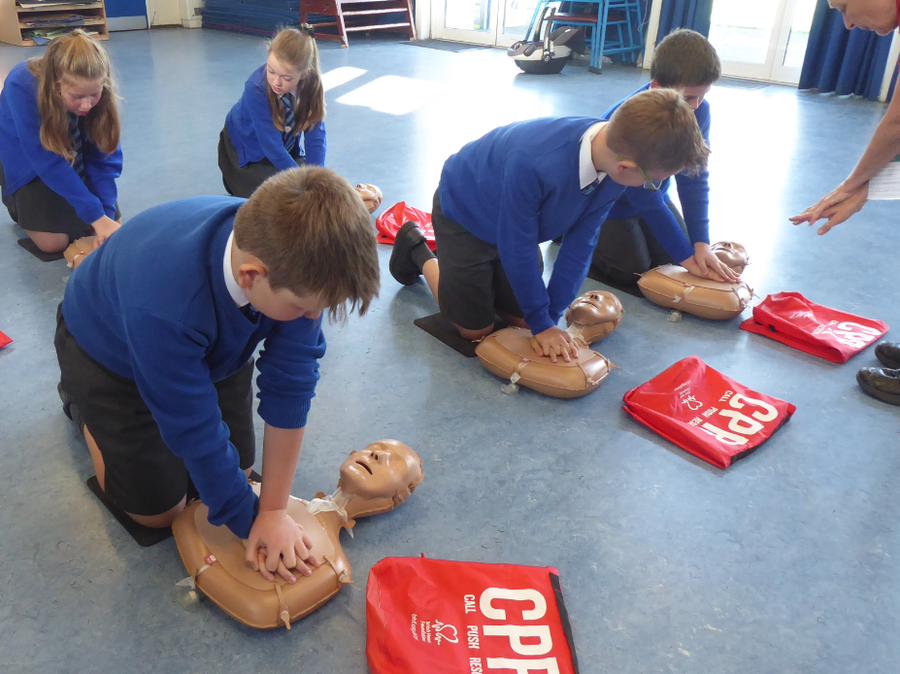 Y6 Restart a Heart Campaign