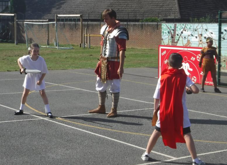 Y4 Roman Day workshop