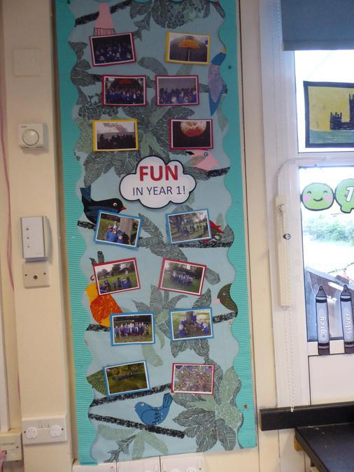 Y1 – Having Fun with learning