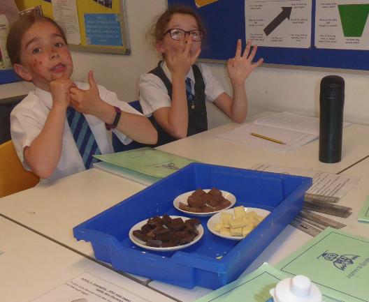 Y4 Chocolate workshop experience