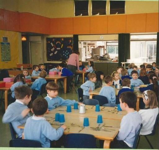 School Dinner Hall 1994
