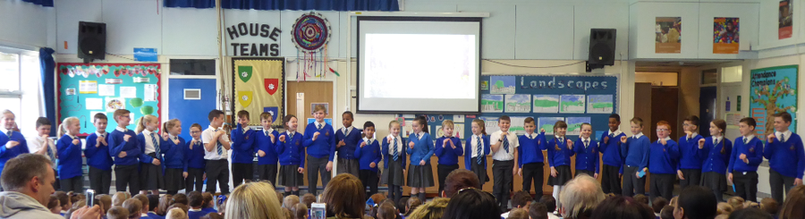 Y4 Walliams Class Assembly