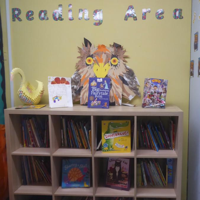 Y1 Reading corner