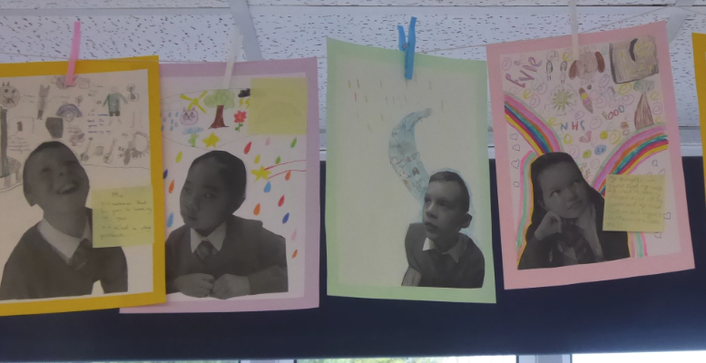 Y5 Art linked to PSHE