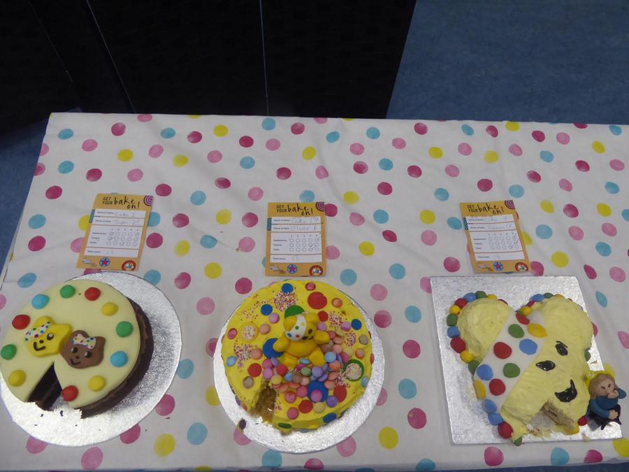 Spotty Bake Off winner cakes