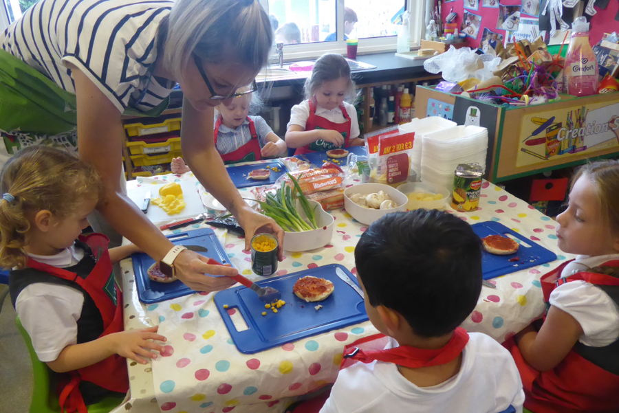 Reception class learning Sept 21