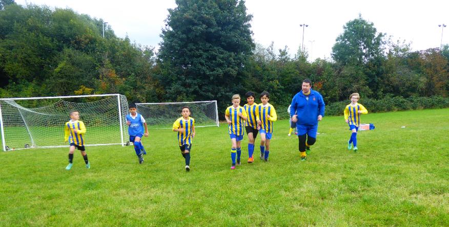 Audley Football Team