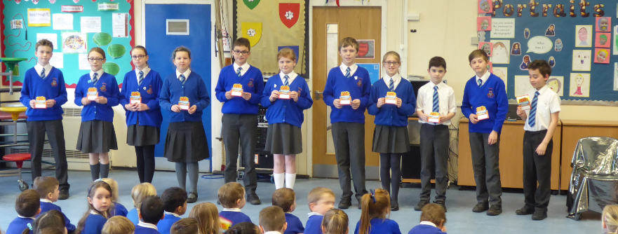 Y6 100% Spring Attendance Champions