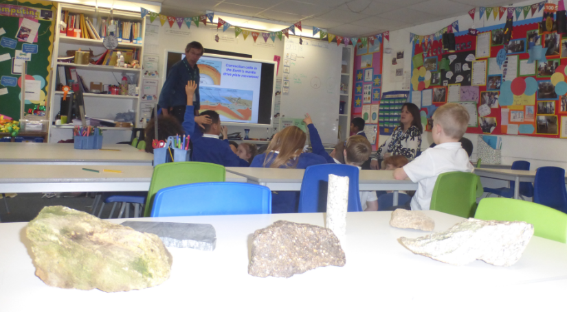 Y2 Geologist visit