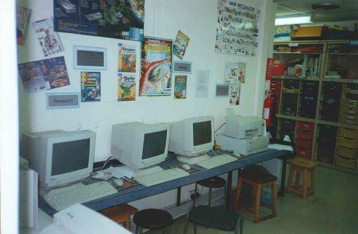 KS2 Corridor 1994
