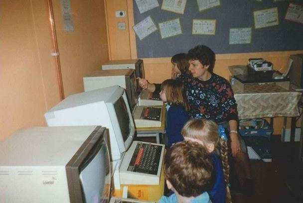 YR Working at the Computers 1997