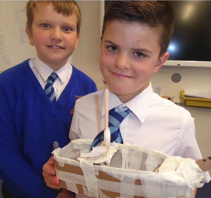 Y5 Art – Anglo-Saxon boats
