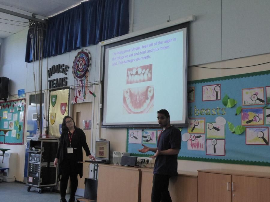 Dental visit for KS1 pupils