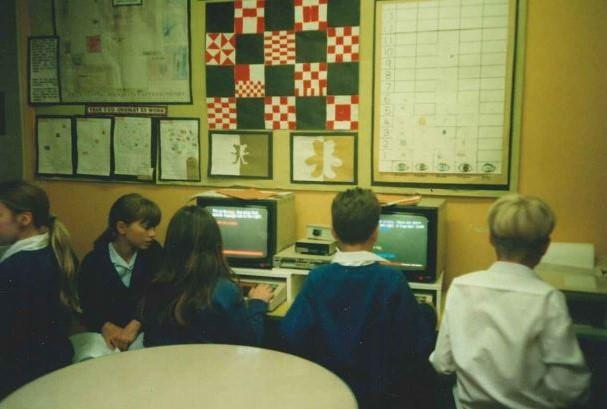 Working in the ICT Suite 1997