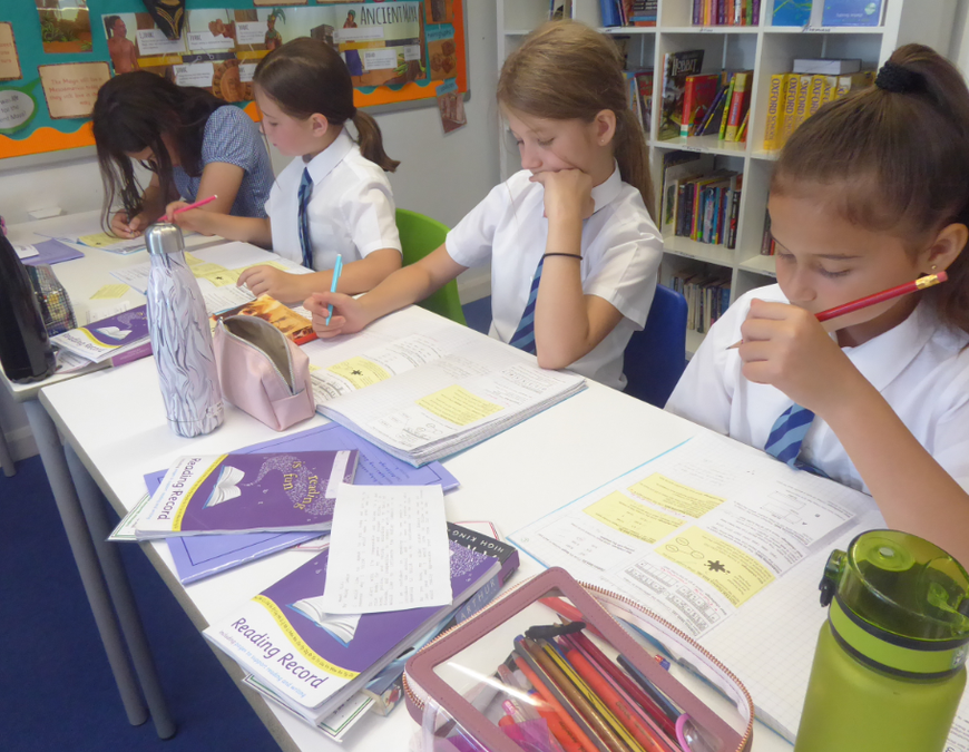 Y6 Learning in action