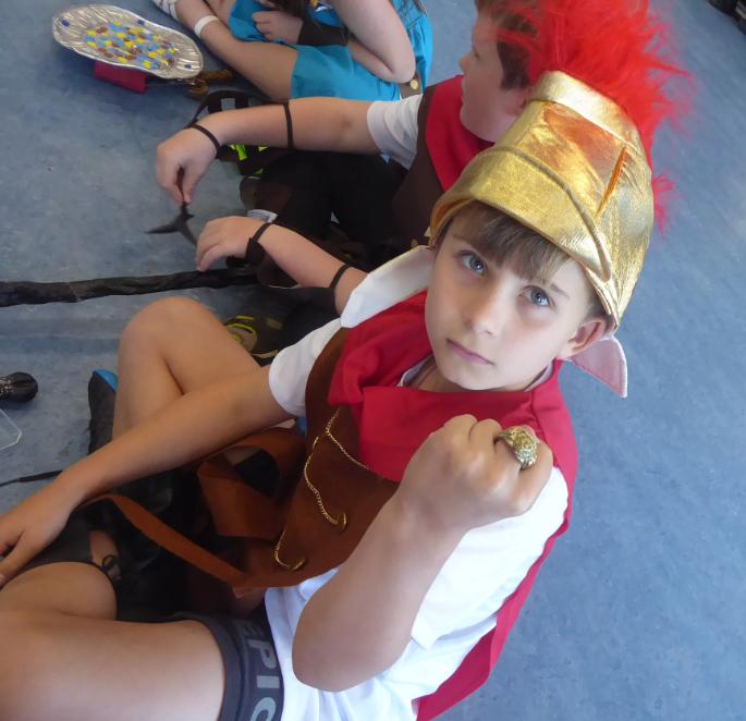 Y4 Roman Workshop