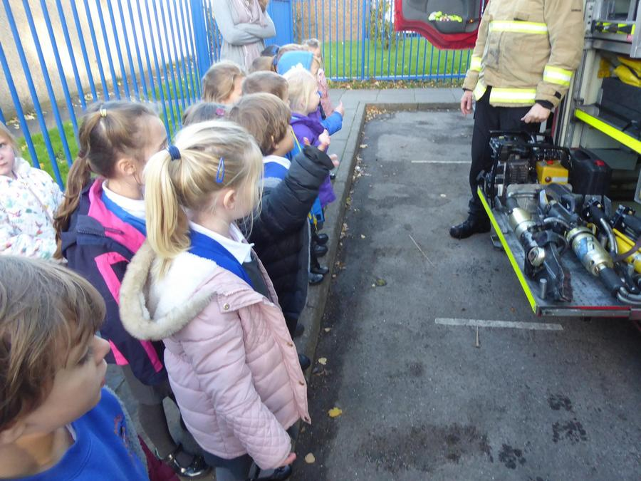 YR Fire and Rescue visit 13/11/17