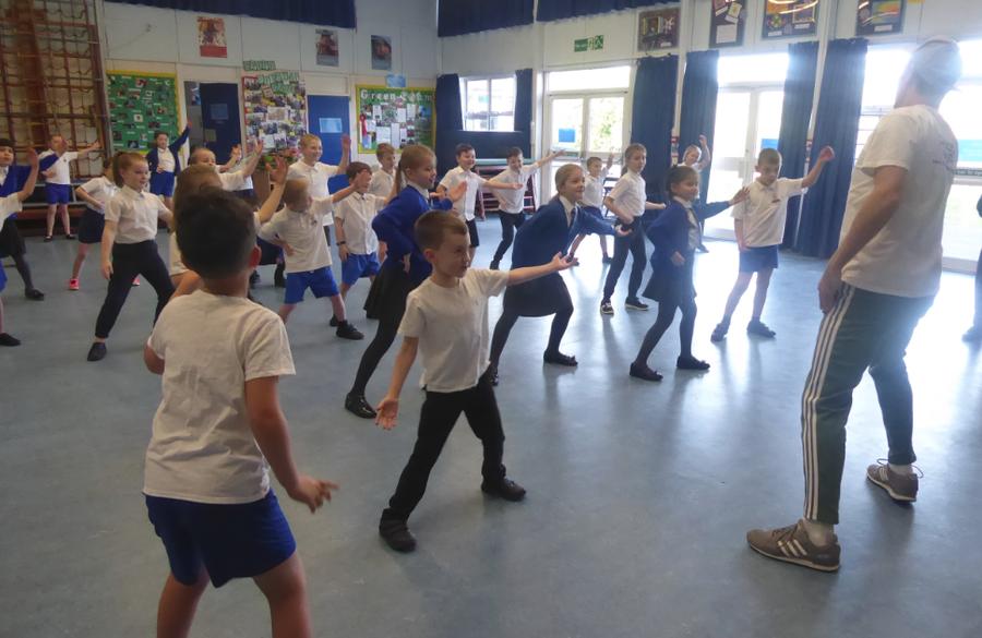 Y3 Dance Day Workshop