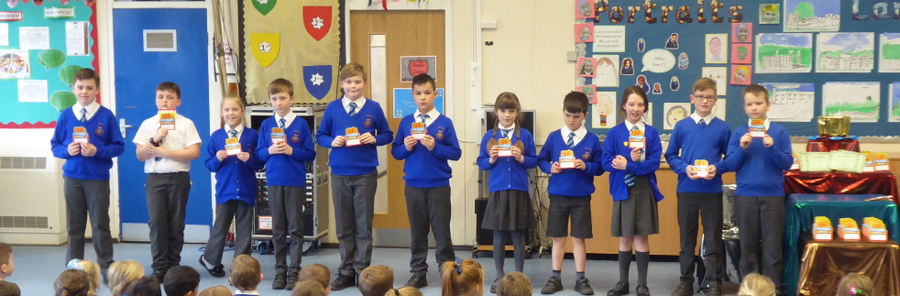 Y4 100% Spring Attendance Champions