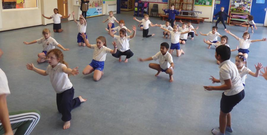Y2 Dance Day Workshop