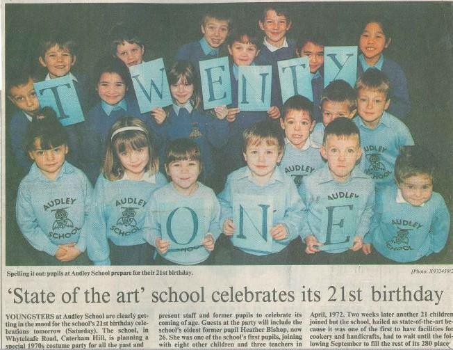 21st Birthday Croydon Advertiser 11/1993