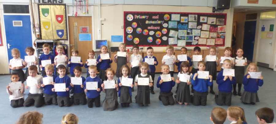 Reception Young Writers Winners