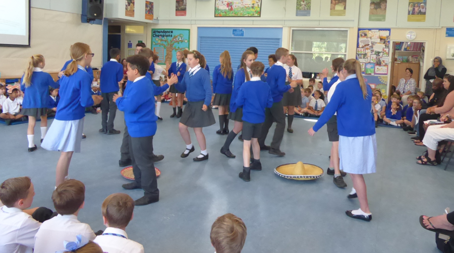 Y6 Mexican Hat Dance – Global Festival Day