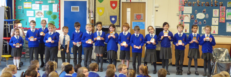 Y3 100% Spring Attendance Champions