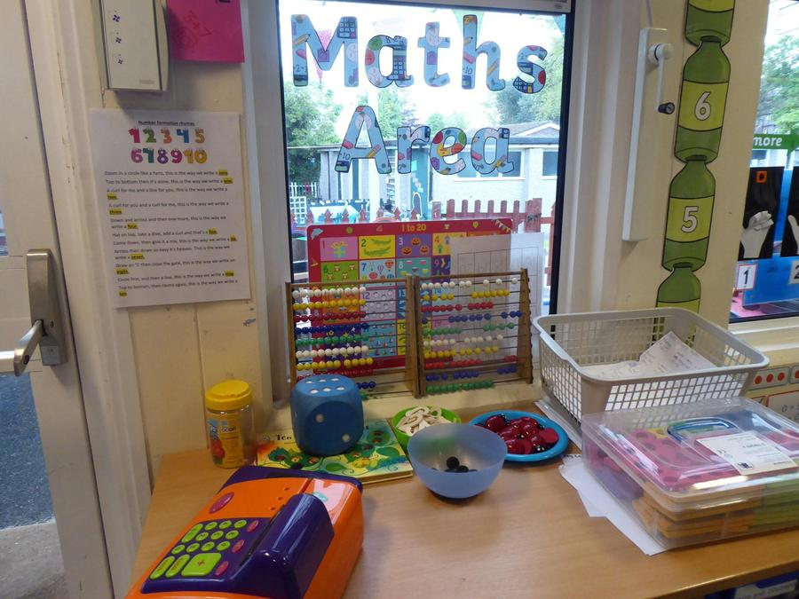YR Maths Area