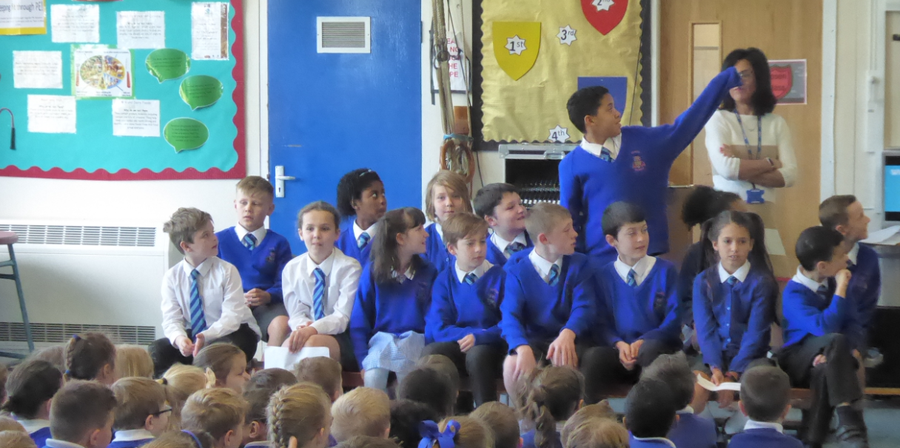Y5 Dahl Class Assembly