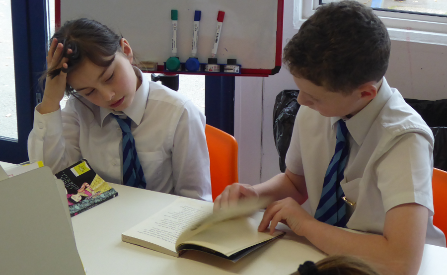Y1-Y6 Paired reading session
