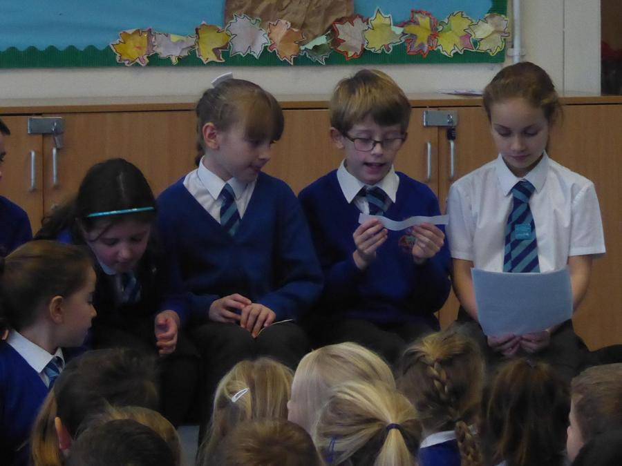 Y4 RRSA assembly on World Children's Day