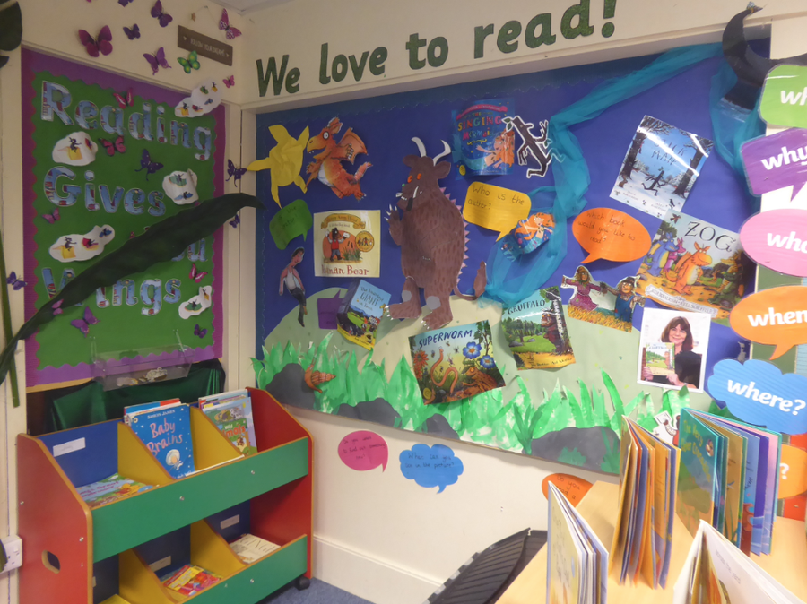 YR reading corner