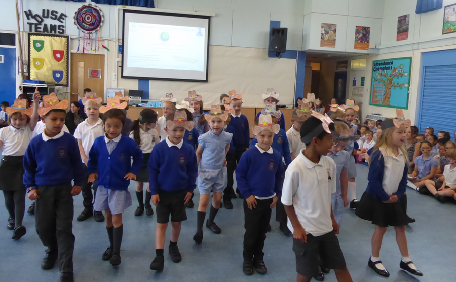 Y1 American Square Dance – Global Festival Day