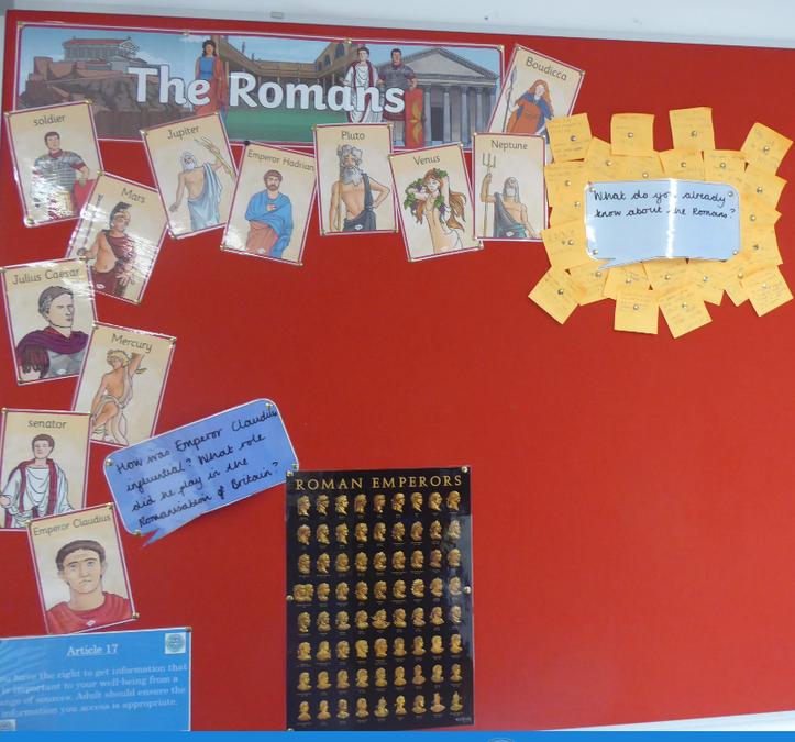 Y4 Romans Oct 19