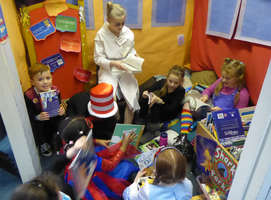 World Book Day Story Sharing