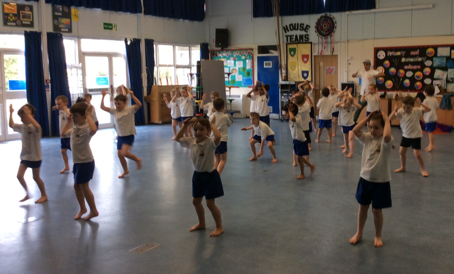 Y1 Dance Day Workshop