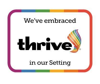 THRIVE Award April 2021