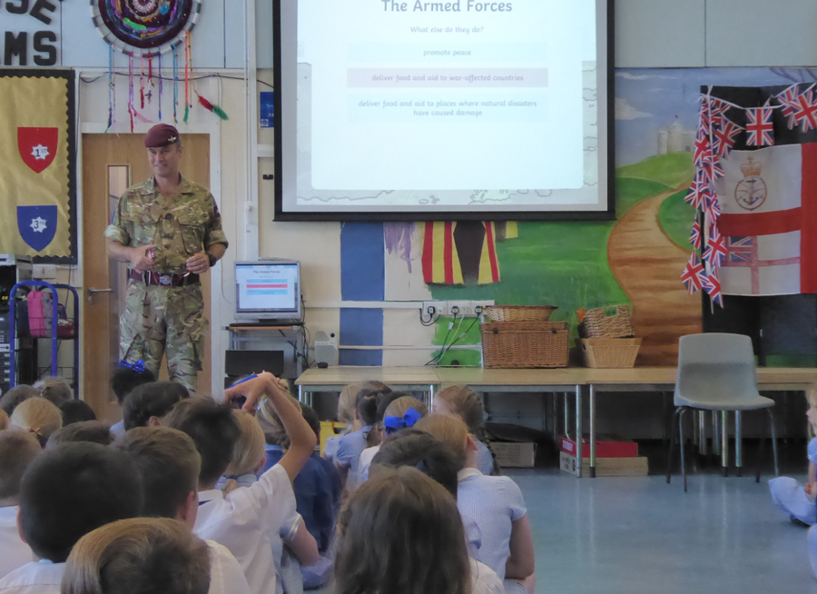 Armed Forces Day assembly