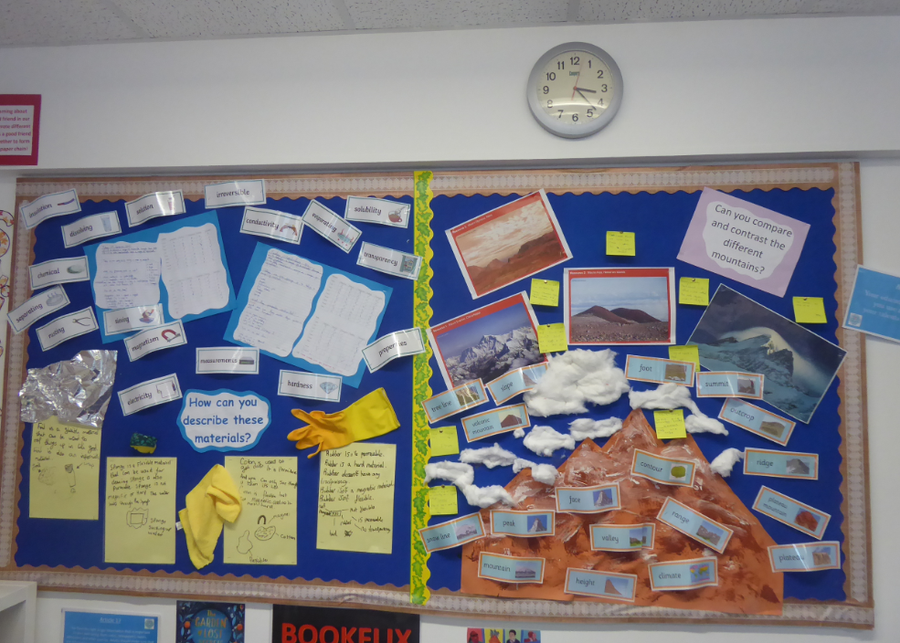 Y5 Science and Geography
